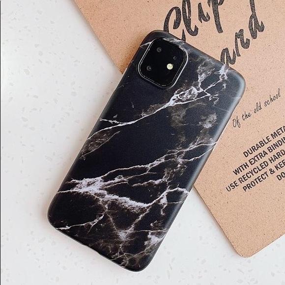 Accessories Iphone 11 11 Pro 11 Pro Max Marble Case Black Poshmark